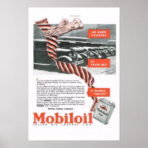 Mobiloil Poster