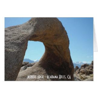 Mobius Arch - Alabama Hills Card