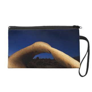 Mobius Arch illuminated in the Alabama Hills Wristlet Clutch