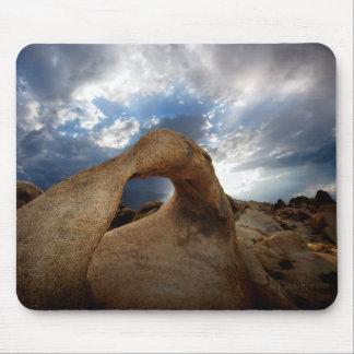 Mobius Arch Sunset - Alabama Hills Mouse Pad