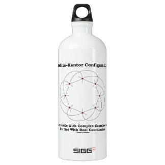 Möbius–Kantor Configuration Realizable Complex Water Bottle