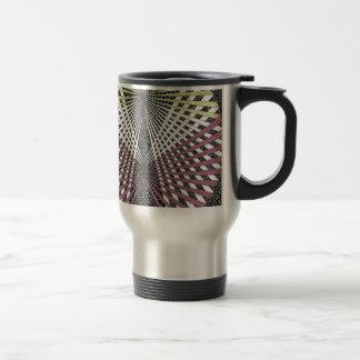 mobius strip chevron sphere 15 oz stainless steel travel mug