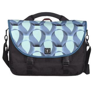 Mobius Strip Pattern Laptop Shoulder Bag