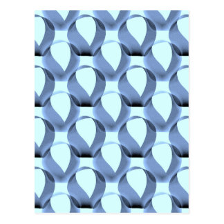 Mobius Strip Pattern Postcard