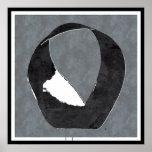 Mobius Strip Zen Enso Poster