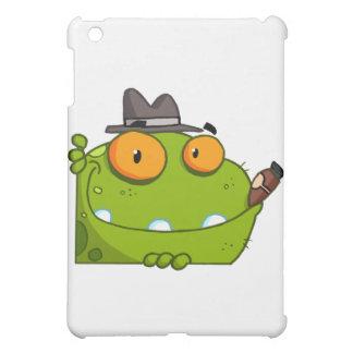 Mobster Frog Cartoon Character iPad Mini Covers