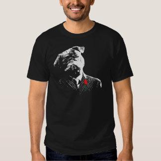 Mobster Pug T-shirt
