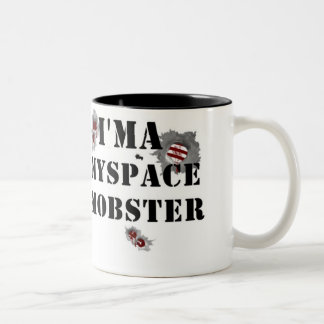 MOBSTERS MY SPACE MOBSTER MUG