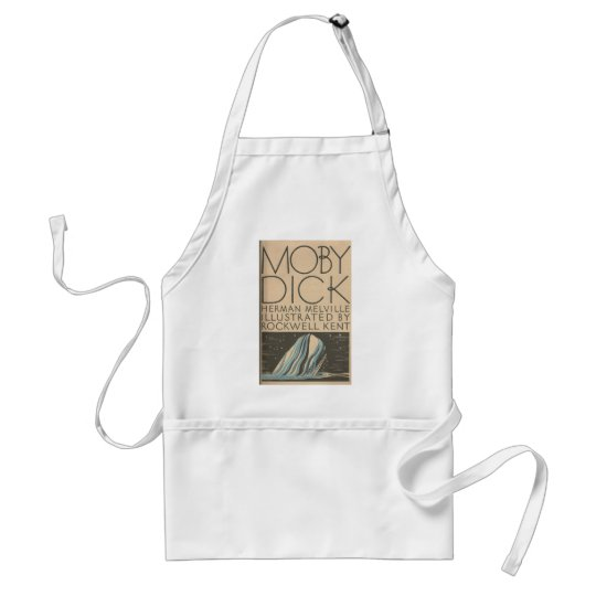 Moby Dick Cover Adult Apron