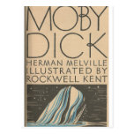 Moby Dick Cover Postcard