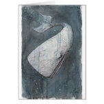 Moby Dick Greeting Card