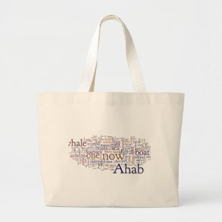 Moby Dick items Large Tote Bag