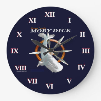 Moby Dick Large Clock