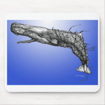 Moby Dick Mousepad