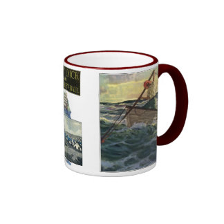 Moby DIck or The White Whale #4 Ringer Mug