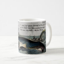 Moby Dick quote and Whale Mug