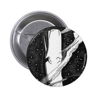 Moby Dick Rising Pinback Button