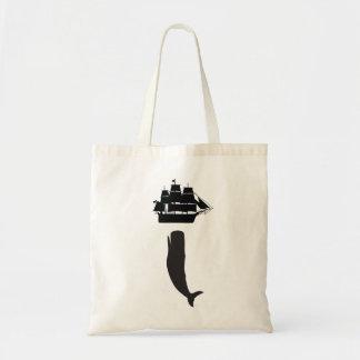 Moby Dick Rising Tote Bag