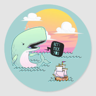 MOBY DICK sticker