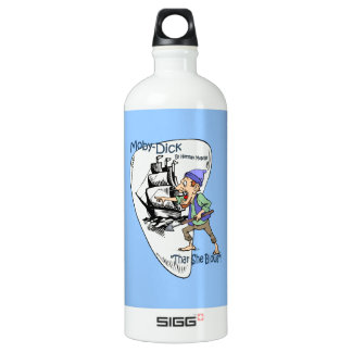 """Moby-Dick"" ~ Whale Spotter ""Thar She Blows"" Aluminum Water Bottle"