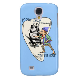 """""""Moby-Dick"""" ~ Whale Spotter """"Thar She Blows"""" Samsung Galaxy S4 Cases"""