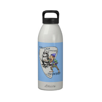 """Moby-Dick"" ~ Whale Spotter ""Thar She Blows"" Drinking Bottle"