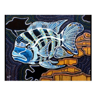 Moby the Cichlid Postcard