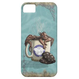 [Moca del dragón de la taza de té] iPhone 5 Carcasas