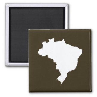 Moca el Brasil festivo de Café en Emporio Moffa Imán Cuadrado