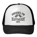Moca pesada de la división de Brooklyn Gorras De Camionero