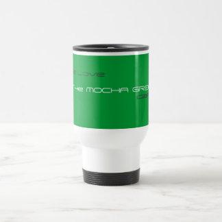 Mocha Green Cafe Travel Mug