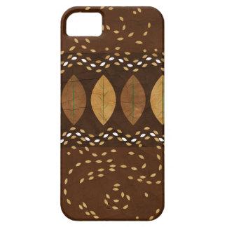 Mocha Hazelnut Autumn iPhone 5 Cases