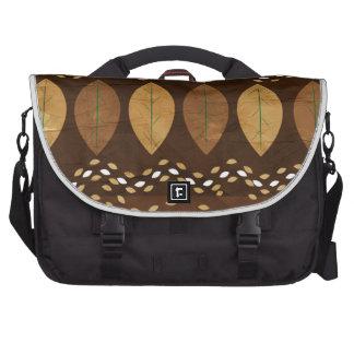 Mocha Hazelnut Autumn Laptop Bag