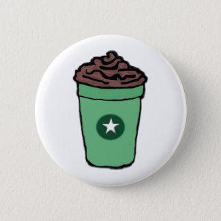 Mocha Love Pinback Button