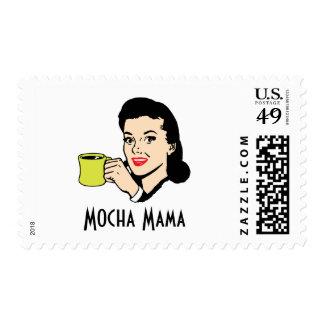 Mocha Mama Vintage Postage