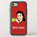 Mocha Mama Vintage Red OtterBox Symmetry iPhone 7 Case