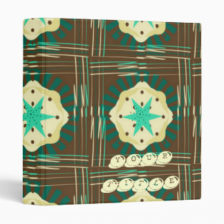 Mocha Mint Cream Pie 3 Ring Binder