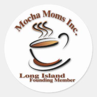 Mocha Moms Long Island Sticker