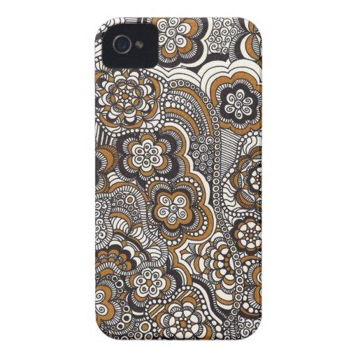 Mocha Phone Case iPhone 4 Cover