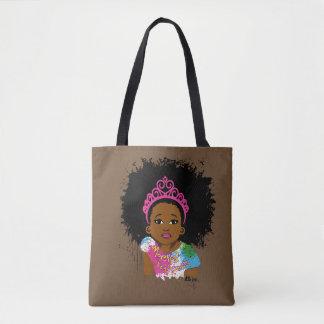 Mocha Princess All Over Print Bag