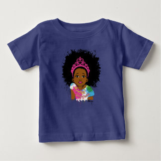 Mocha Princess Baby Shirt