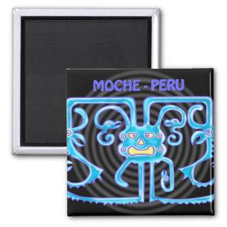 MOCHE-PERU IMÁN CUADRADO