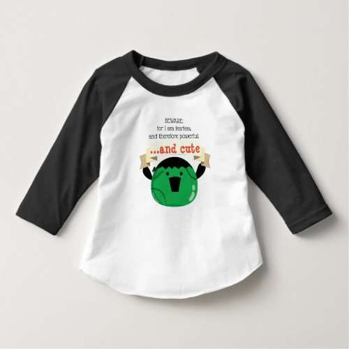 Mochi Frankenstein _ Fearless Powerful Cute T_Shirt