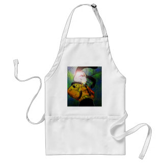 mochi greg collaberation no red adult apron