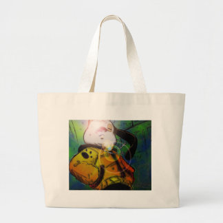 mochi greg collaberation no red tote bags