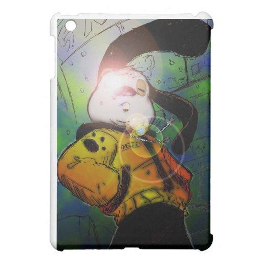 mochi greg collaberation no red iPad mini cover