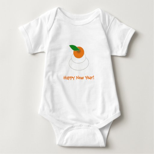 Mochi New Years Baby Bodysuit