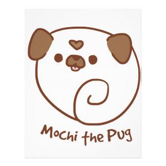 Mochi the Pug Letterhead