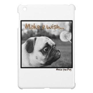 Mochi the Pug Make a Wish iPad Mini Cover