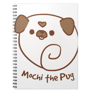 Mochi the Pug Notebook